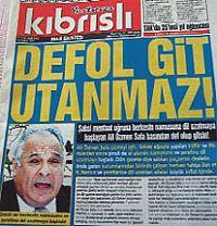 STAR KIBRIS GAZETESİ YAZARI ADAYI FENA KARIŞTIRDI!.. PEKİ ALİHAN PEHLİVAN NE YAZDI?..