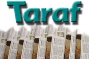 TARAF GAZETESİ'NDEN AYRILIK!