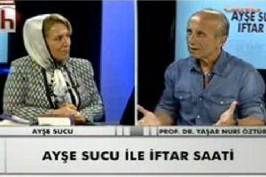 YAŞAR NURİ ÖZTÜRK HALK TV'DE FENA PATLADI; ONUN BUNUN ÇOCUĞU!