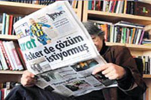 SİVİLAY ABLA DA TARAF GAZETESİ'NE VEDA ETTİ!