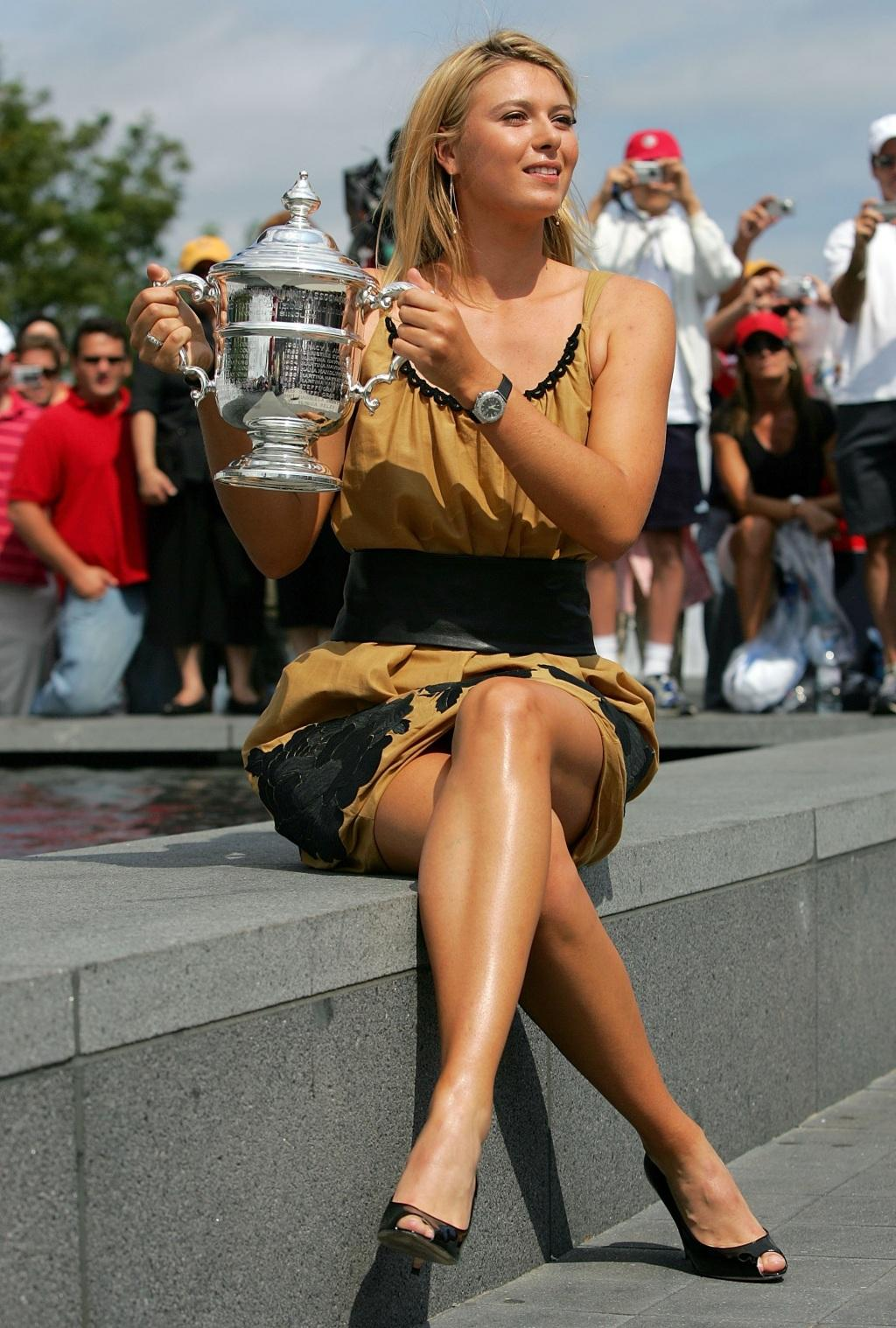 Rus tenisçi Maria Sharapova,