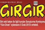 4 eski bakan Gırgır'ın kapağında Yüce Divan'a böyle meydan okudu!
