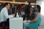 Alex de Souza Türkiye Finans'ın reklam filminde esnaf oldu