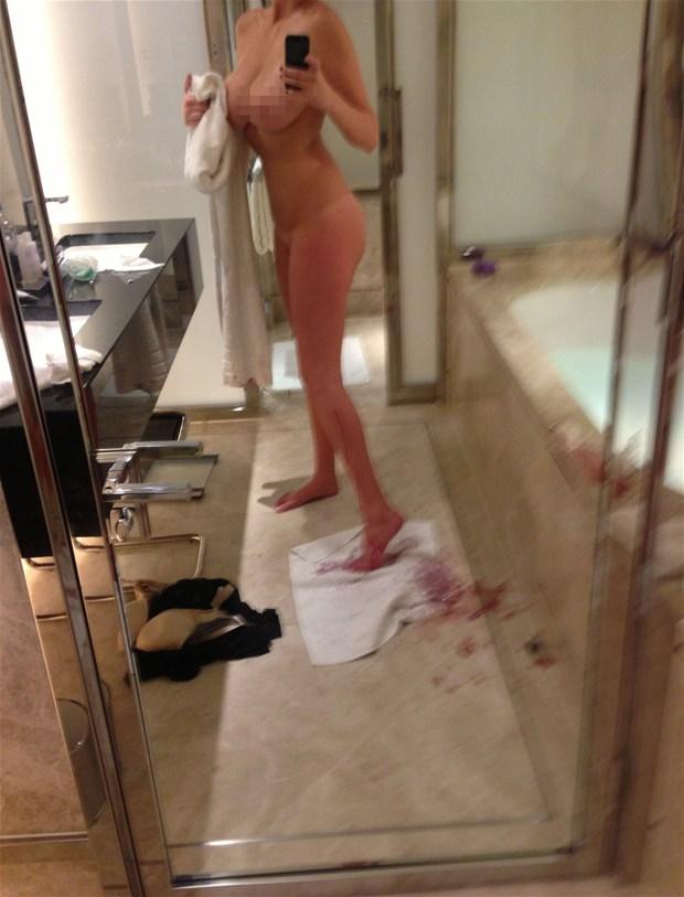 Украденные хакерами фото голых актрис