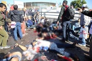 Ankara'daki patlamadan ilk görüntüler!
