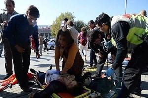 Ankara'daki korkunç patlama dış basında flaş haber oldu!