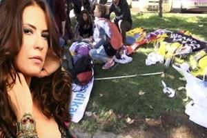 """Yeşim Salkım'dan 'Ankara' tepkisi: """"Bildiğin manyaksınız"""""""
