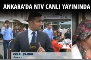 NTV canlı yayınında bomba patladı
