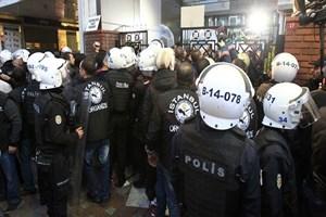 Bugün Tv'nin canlı yayınına polis engeli