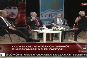 Ümit Kocasakal Berna Laçin'e ayar verdi: Gerilla değil terörist