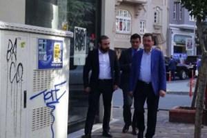 Melih Gökçek Ahmet Hakan'ı ziyaret etti
