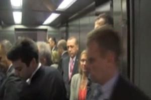 Erdoğan'dan asansör uyarısı: Birisi insin ya!