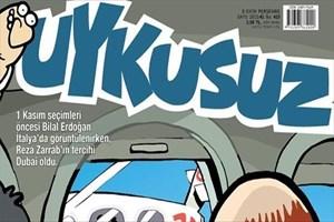 Bilal Erdoğan ve Reza Zarrab Uykusuz'un kapağında!