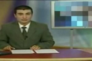 Makedonya televizyonunda skandal görüntüler!