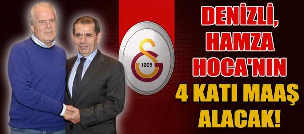 Denizli, Hamza Hoca'nın 4 katı maaş alacak!