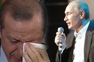 Putin söyledi Erdoğan ağladı