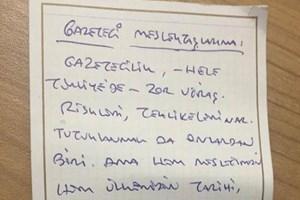 Tutuklu gazeteci Can Dündar ve Erdem Gül'den mesaj var