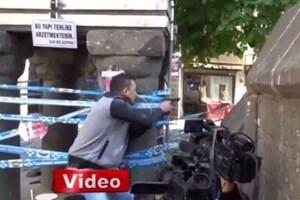 Tahir Elçi'nin öldürüldüğü çatışma anları kameralara böyle yansıdı!