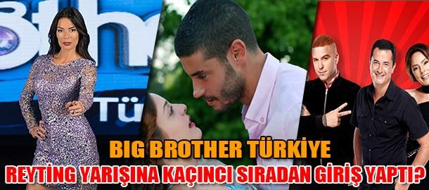 Big Brother Türkiye reyting yarışına kaçıncı sıradan giriş yaptı?