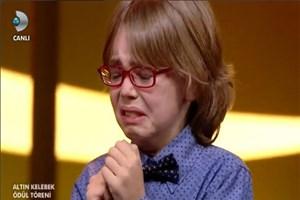 Ataberk Mutlu ağladı, ağlattı!