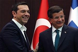 Çipras ve Davutoğlu Twitter'da tartıştı!