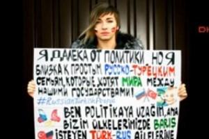 Rus şarkıcıdan Türk-Rus ilişkilerine destek çağrısı