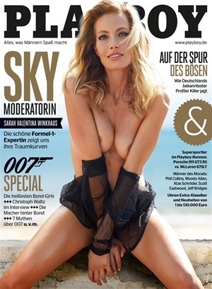 Ünlü sunucunun Playboy pozları olay oldu
