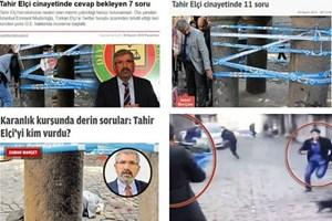 Tahir Elçi cinayetinin aydınlatılmasi için 3 gazeteden 32 soru!