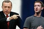 Erdoğan'dan Facebook'un sahibine teşekkür