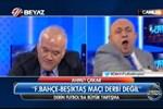 Canlı yayında şok tartışma! Sinan Engin, Ahmet Çakar'a bardak fırlattı!