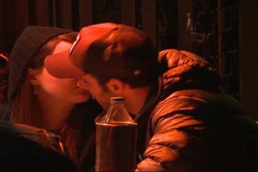 Ünlü oyuncunun panik anları! Bütün gece öpüştüler!