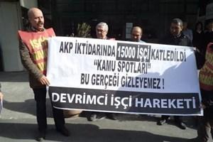 RTÜK önünde protesto!