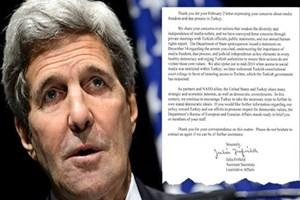 Temsilciler Meclisi'nden John Kerry'e üçüncü mektup