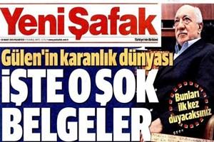 Yeni Şafak'ın Gülen belgeleri sosyal medyayı salladı!