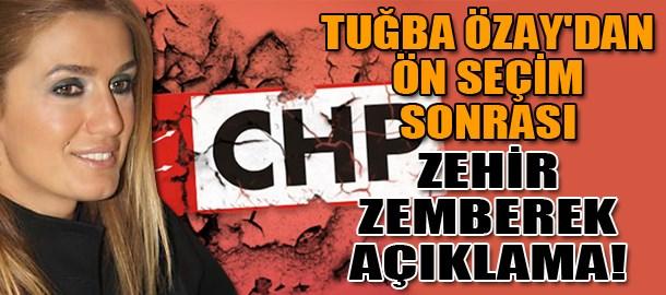Tuğba Özay'dan ön seçim sonrası zehir zemberek açıklama!