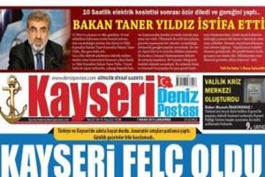 Yerel gazeteden 1 Nisan şakası: Bakan Yıldız istifa etti
