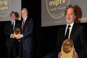 'MIPTV Onur Madalyası' ilk kez bir Türk'e verildi!