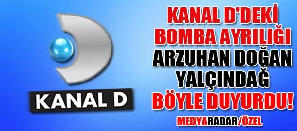Kanal D'deki bomba ayrılığı Arzuhan Doğan Yalçındağ böyle duyurdu! (Medyaradar/Özel)