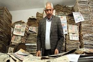 Yarım asırdır gazete arşivliyor!