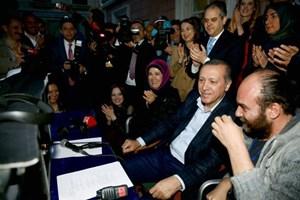 Cumhurbaşkanı Erdoğan  hangi dizinin yönetmen koltuğuna oturdu?
