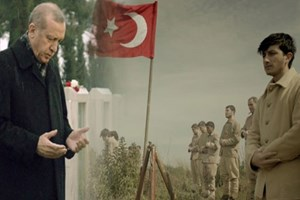 Erdoğan, Çanakkale için hazırlanan videoda şiir okudu
