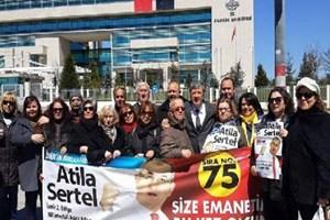 AYM'de Atilla Sertel eylemi!