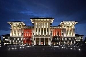 Cumhurbaşkanlığı Sarayı'nda şüpheli şahıs alarmı