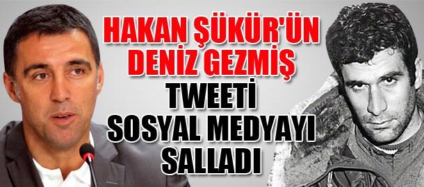 Hakan Şükür'ün Deniz Gezmiş tweeti sosyal medyayı salladı