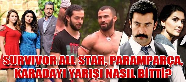 Survivor All Star, Paramparça, Karadayı yarışı nasıl bitti?