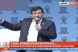 Samanyolu Haber'de şok Davutoğlu kj'si! Yasal zorunluluktan dolayı...