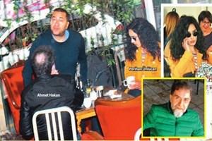 Ahmet Hakan objektiflerden kaçamadı, sevgilisiyle yakalandı!