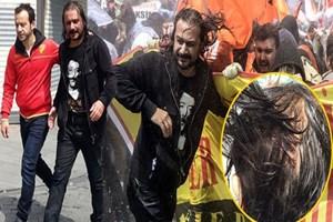Emrah Serbes ve Rıza Kocaoğlu 1 Mayıs yürüyüşünde!