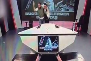 Gol iptal edildi BJK TV çıldırdı