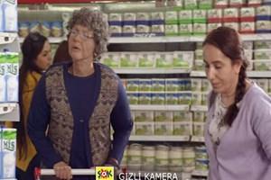 Şok markette Gülben Ergen şoku! Gülben yaşlanıp markete giderse...